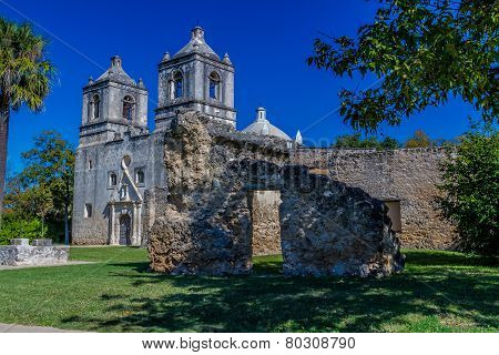 The Historic Old West Spanish Mission Concepcion, Established 1716, San Antonio