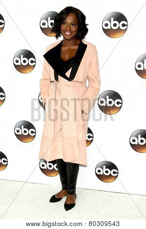 LOS ANGELES - JAN 14:  Viola Davis at the ABC TCA Winter 2015 at a The Langham Huntington Hotel on January 14, 2015 in Pasadena, CA