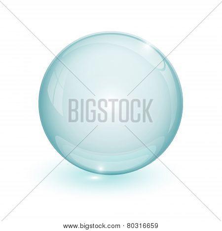 Blue Bubble 3D