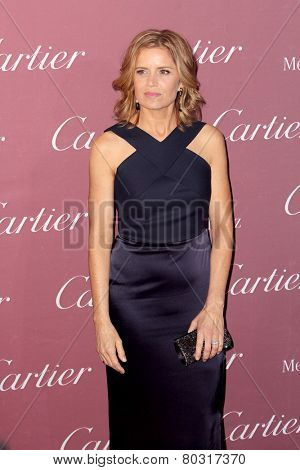PALM SPRINGS, CA - JAN 3: Kim Dickens arrives at the 2015 Palm Springs International Film Festival Awards Gala at the Palm Springs Convention Center on January 3, 2015 in Palm Springs, CA.