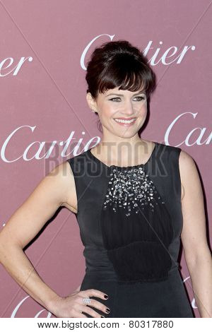 PALM SPRINGS, CA - JAN 3: Carla Gugino arrives at the 2015 Palm Springs International Film Festival Awards Gala at the Palm Springs Convention Center on January 3, 2015 in Palm Springs, CA.