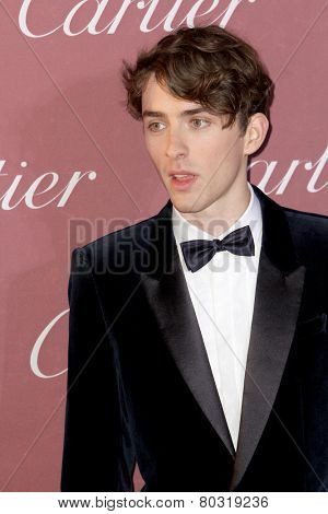 PALM SPRINGS, CA - JAN 3: Matthew Beard arrives at the 2015 Palm Springs International Film Festival Awards Gala at the Palm Springs Convention Center on January 3, 2015 in Palm Springs, CA.