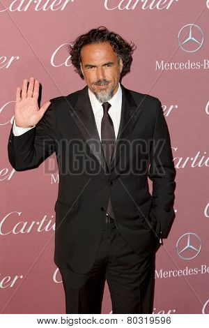 PALM SPRINGS, CA - JAN 3: Alejandro Gonzalez Inarritu arrives at the 2015 Palm Springs International Film Festival Gala at the Palm Springs Convention Center on January 3, 2015 in Palm Springs, CA.