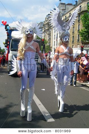 Grotesque Costumes At Paris Gay Pride 2010