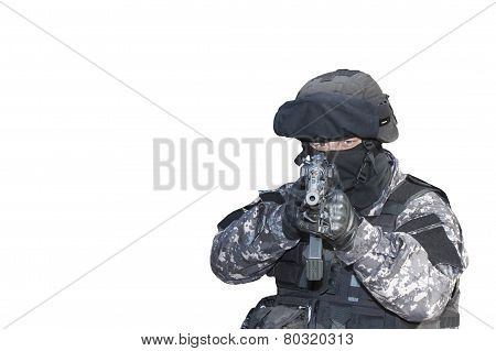 Fight against terrorism, Special Forces soldier