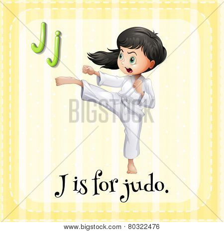 A letter J for judo