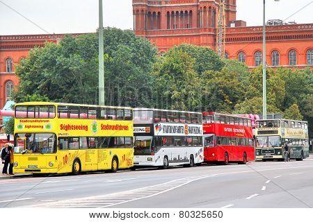 City Sightseeing Buses In Berlin