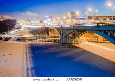 Moscow circle highway