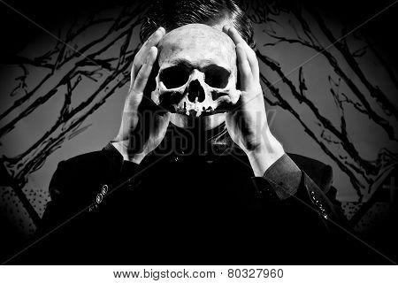 mask of depression