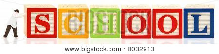 Alphabet Blocks School