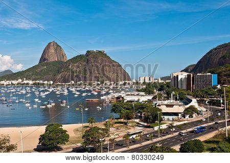 Botafogo and Sugarloaf Mountain, Rio de Janeiro