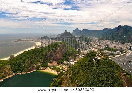 Rio de Janeiro Landscape and Cityscape