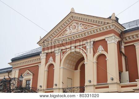 Drama Theater In Klaipeda.
