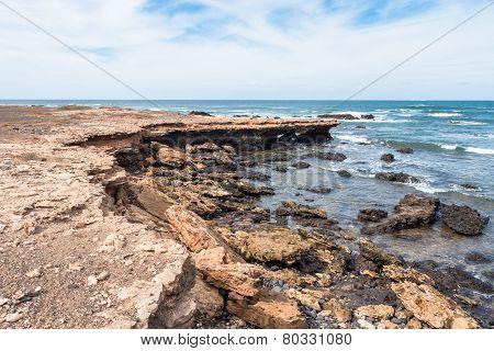 Wild Boavista Island Coast In Cape Verde - Cabo Verde