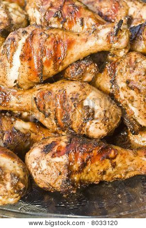 Barbecued Jerk Chicken