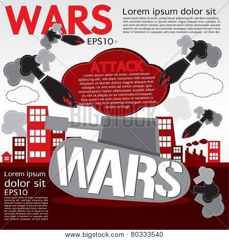 War Concept Illustration.