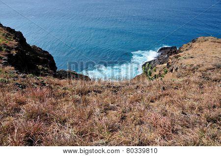 Waves Between Cliff