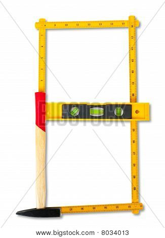 Carpenter Rule Looking Like Number Eight