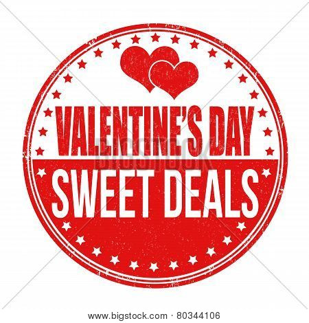 Valentines Day Sweet Deals Stamp