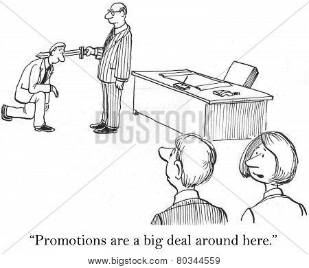 Promotions Are Important
