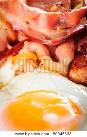 Background Of English Big Breakfast