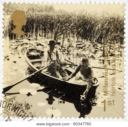 Water-lilies Stamp