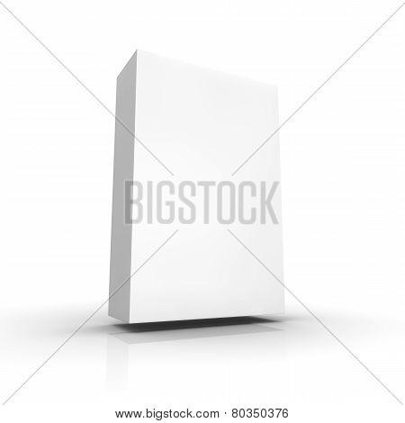 Blank Retail Software Box