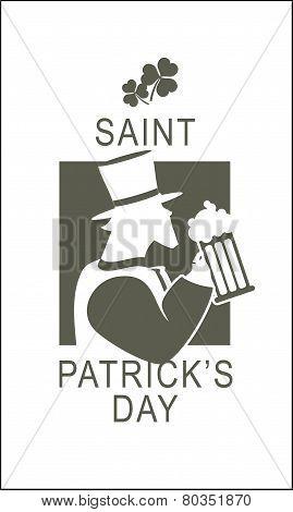 Template Flyer St. Patricks Day