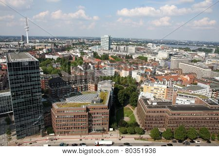 View On Hamburg From St. Michael's Church, Hamburg
