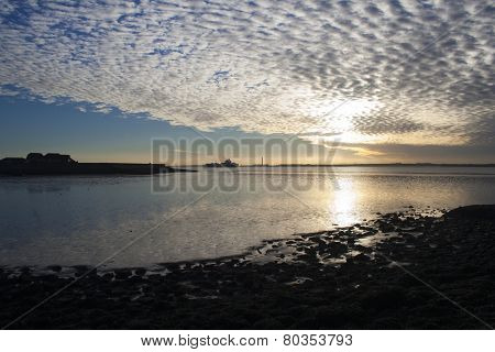 View Across Thorney Bay, Canvey Island, Essex, England