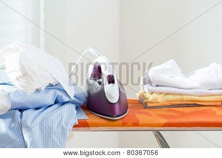 Iron On A Board