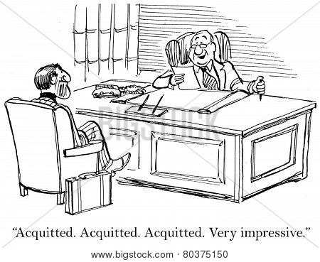 Job Interview - Acquitted