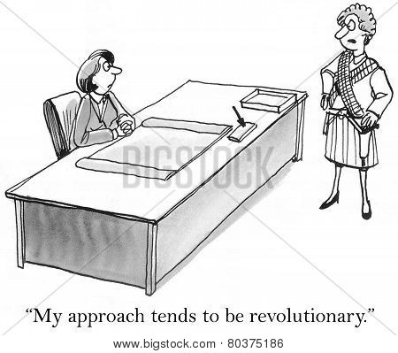 Woman Executive - Revolutionary