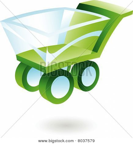 3d Shopping Cart