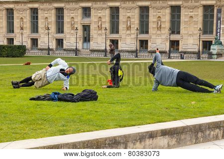 Paris. Tuileries Gardens.