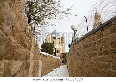 Old City In Jerusalem