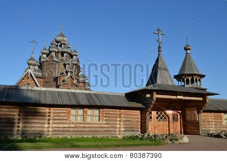 Wooden Temple.