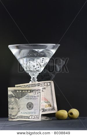 Vodka Martini Money Dice