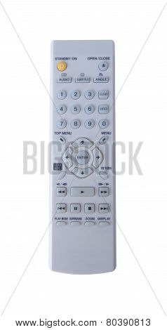 Remote Control Isolated On The Background. Remote Control Isolated On The Background.