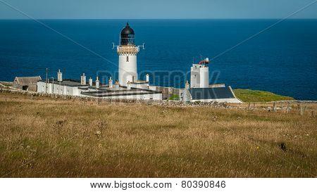 Summer At Dunnet Head Lighthouse, Caithness