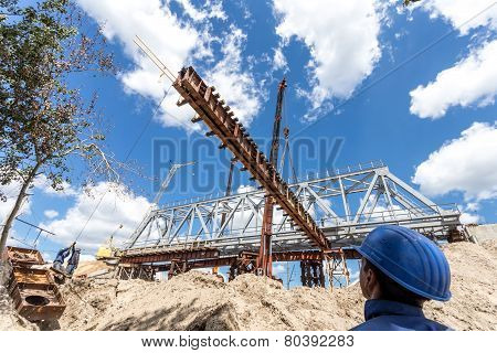 Constructing of bridge