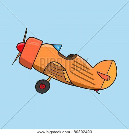 Plane Retro