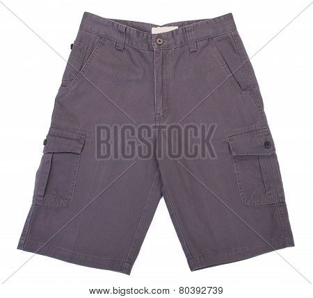 Shorts. Shorts On A Background