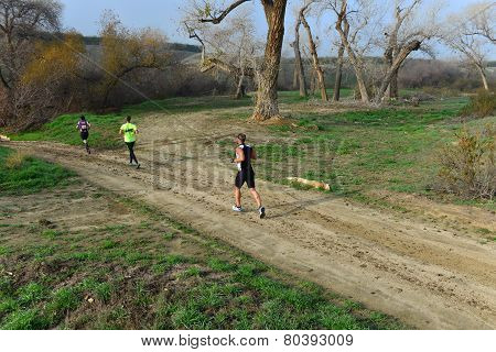 Running Dirt Trail