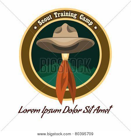 Scout Camp Logo
