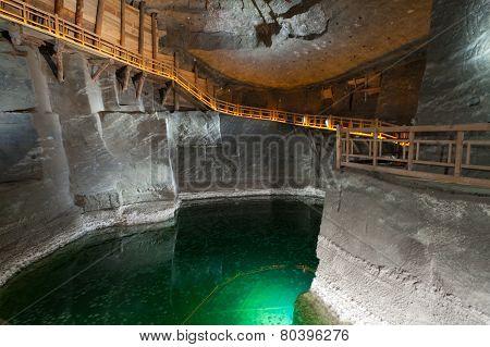 Wieliczka Salt Mine (13th century) is one of the world's oldest salt mines.