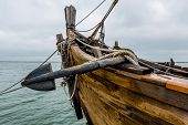 stock photo of old boat  - Planks - JPG
