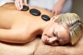 picture of spa massage  - people - JPG