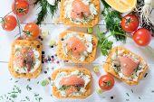 ������, ������: Salmon Appetizers