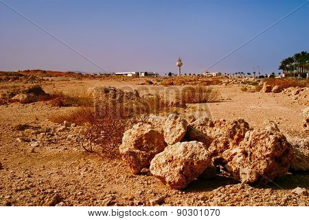 Rocky Desert, The Sinai Peninsula, Egypt.